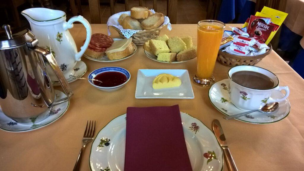 """Frühstück im """"Riosol"""""""