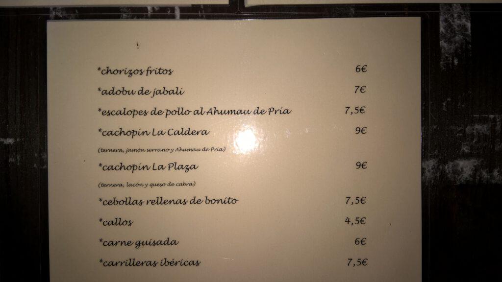 """Sidrería """"La Caldera"""", Cangas de Onís"""