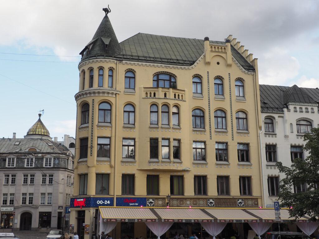 Kaķu māja (Katzenhaus), Riga