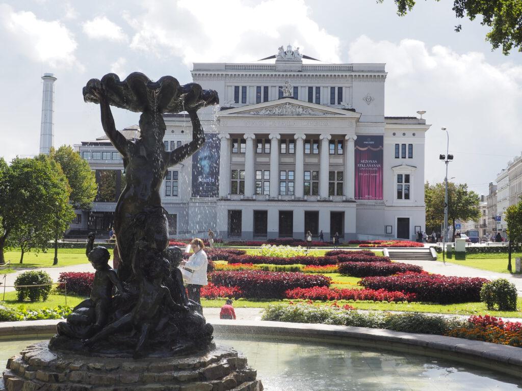 Latvijas Nacionālā opera (Lettische Nationaloper), Riga