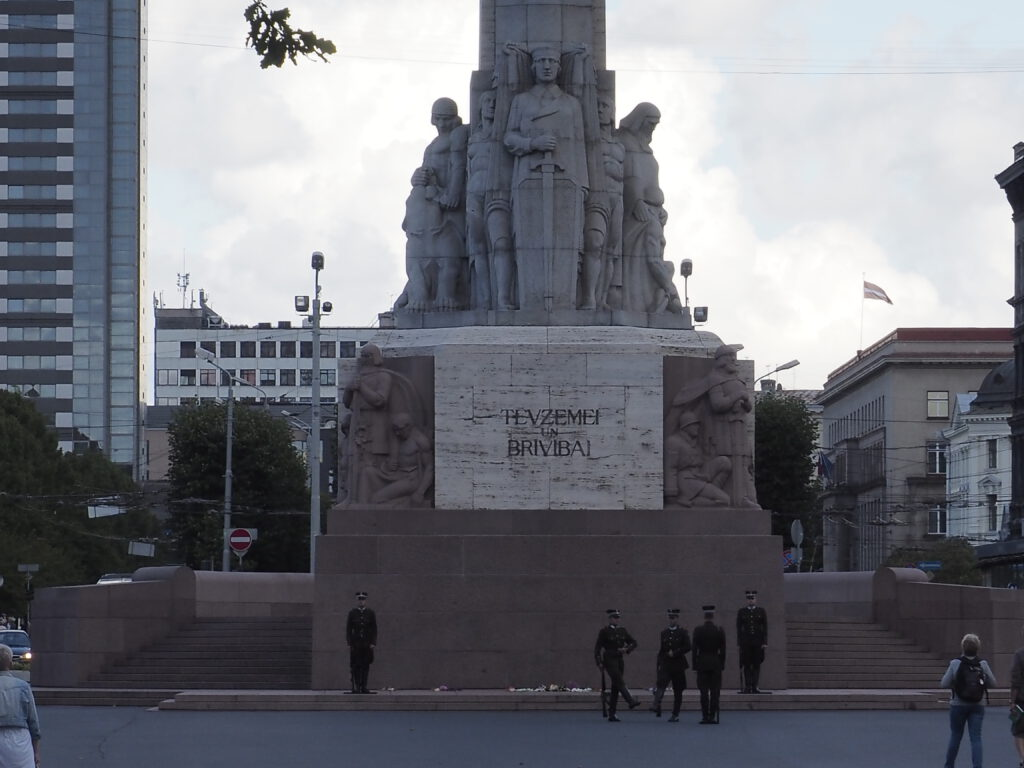 Brīvības piemineklis (Freiheitsdenkmal), Riga