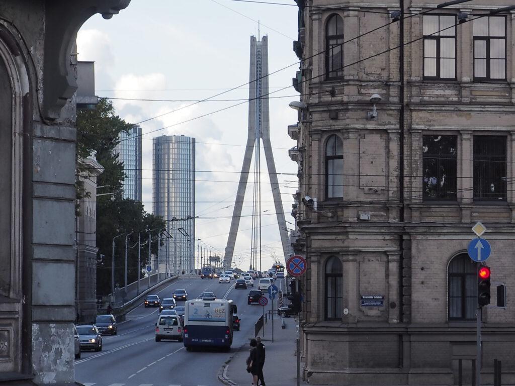 Vanšu tilts (Vanšu-Brücke), Riga