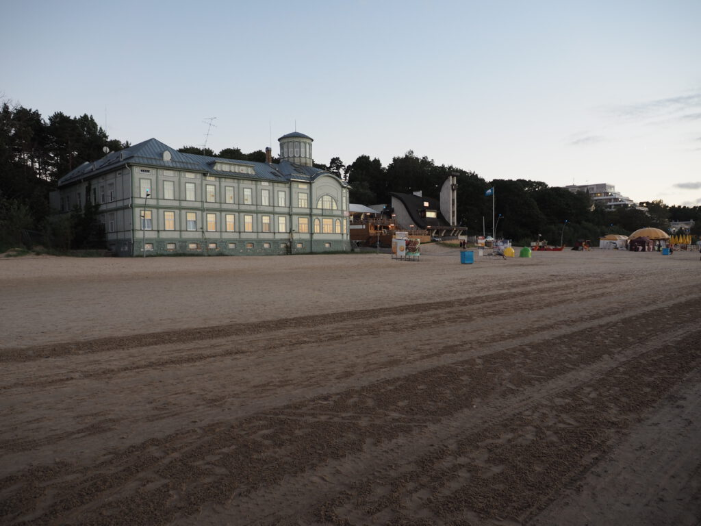 Bijusī Emīlijas Rācenes peldiestāde, Jūrmala, Lettland