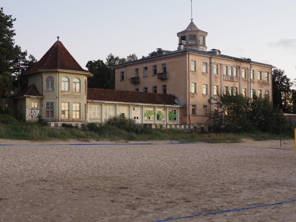 """Bijusi sanatorija """"Marienbāde"""", Jūrmala, Lettland"""