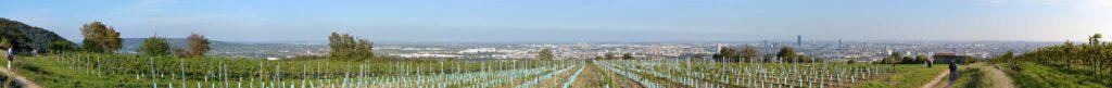 Panoramablick über Wien