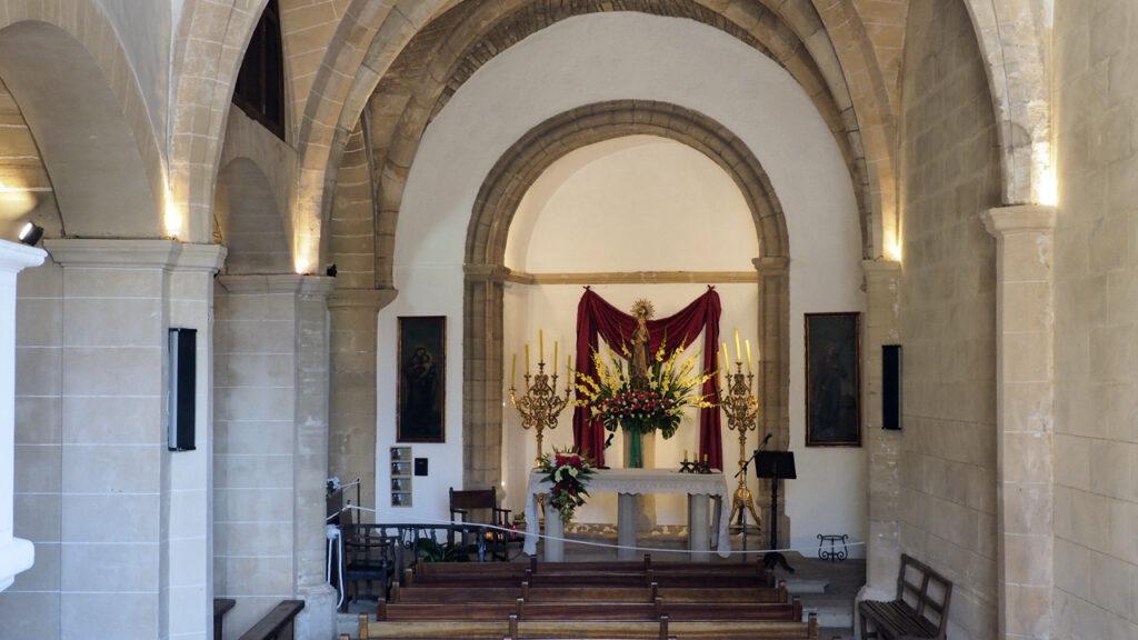 Església de Nostra Senyora de l''Esperança, Castell de Capdepera, Mallorca