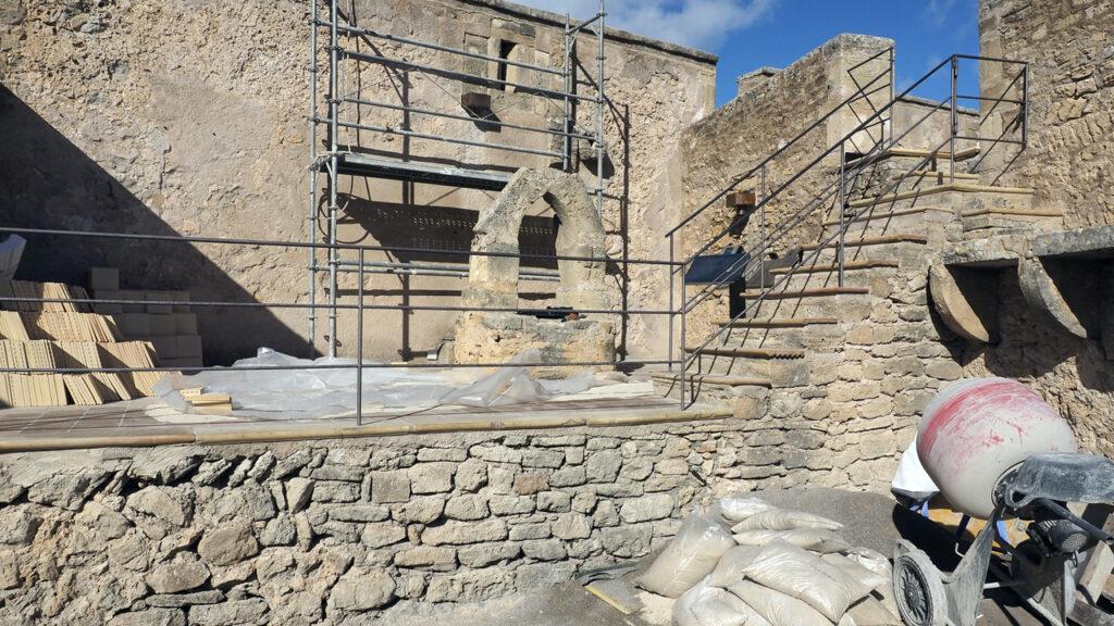 Zisterne, Castell de Capdepera, Mallorca