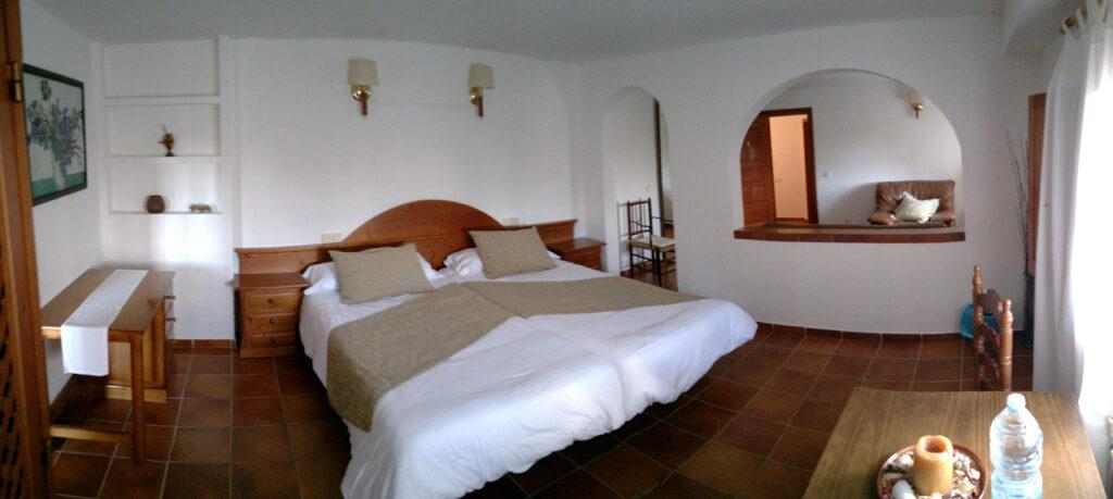 Schlafzimmer, Zimmer 6, Agroturismo Son Tomaset, Costitx, Mallorca