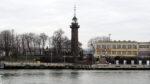 Latarnia Morska Nowy Port (Leuchtturm von Neufahrwasser), Danzig, Polen