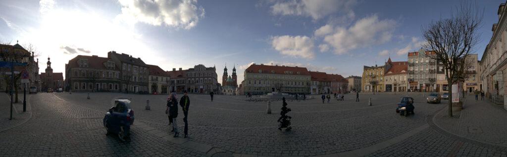 Rynek, Gniezno (Gnesen), Polen