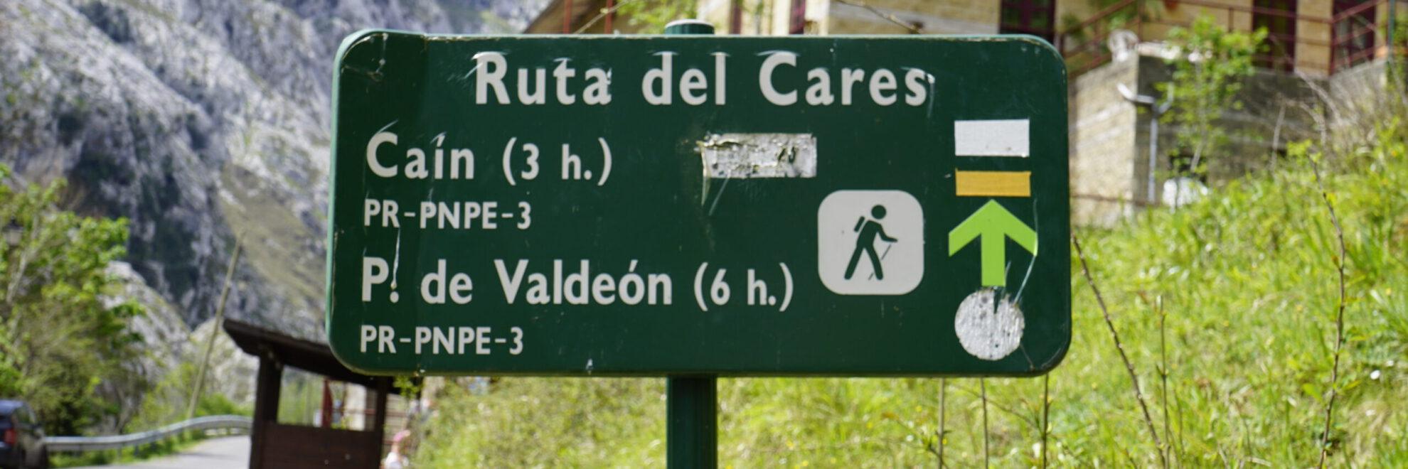 Cabrales: Ruta del Cares (Inhaltsverzeichnis)