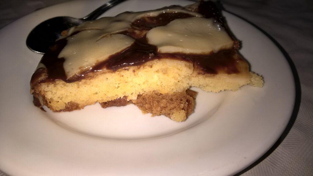 Tarta de la abuela, Hostal Cangas de onis