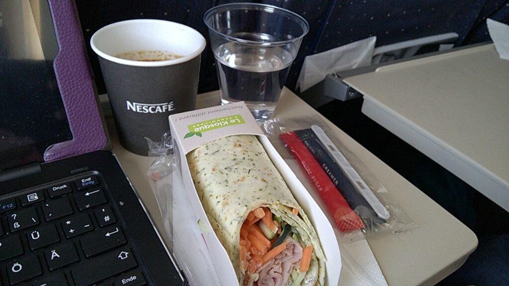 Jambon Wrap, Air France