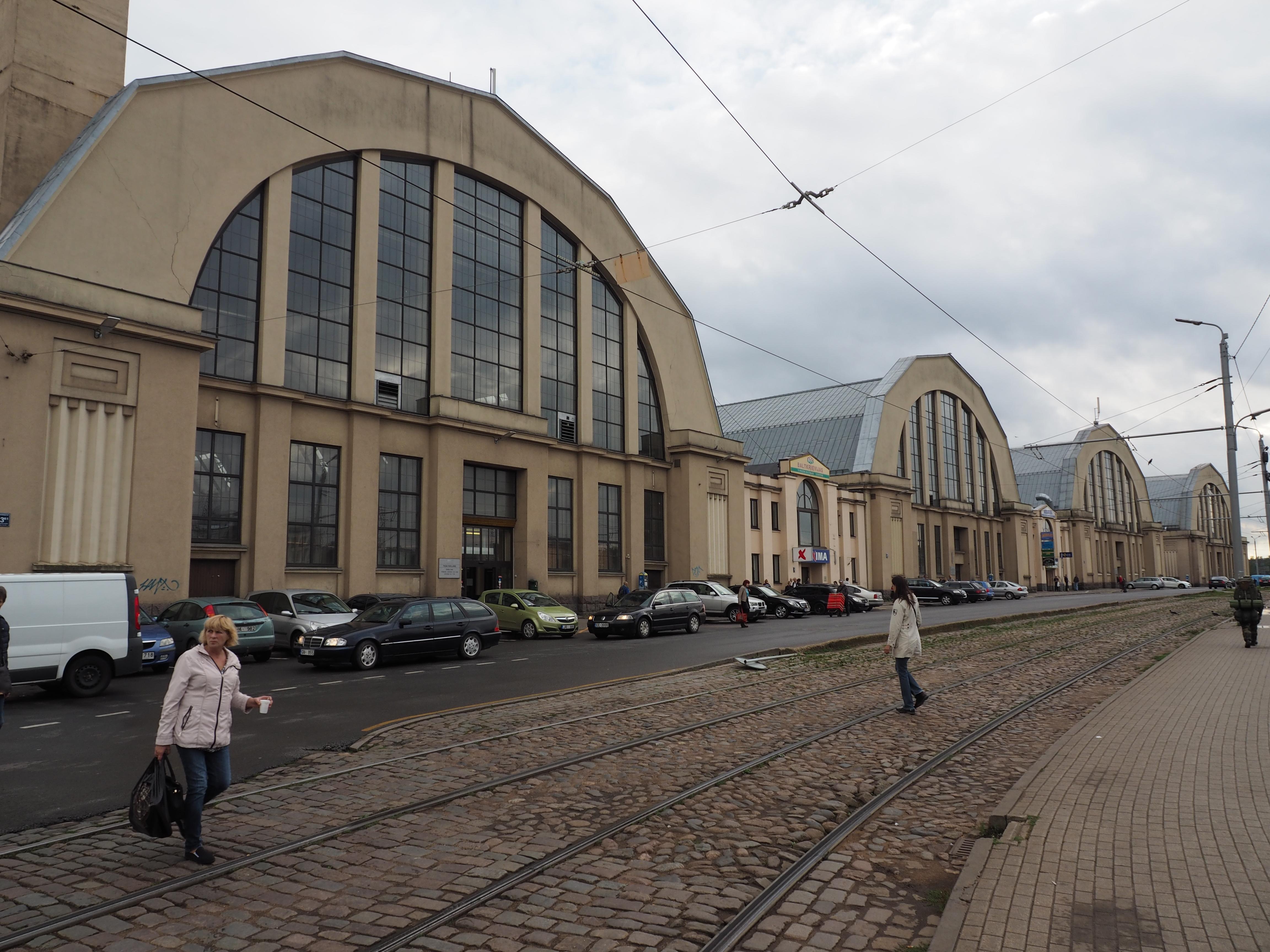 "Zentralmarkt ""Centrāltirgus"", Riga"