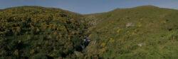 Fervenza do Coto Grande, A Laxe, Galicien, Spanien