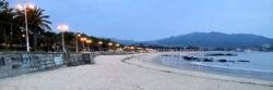 Praia de Samil (Vigo, Galicien, Spanien)