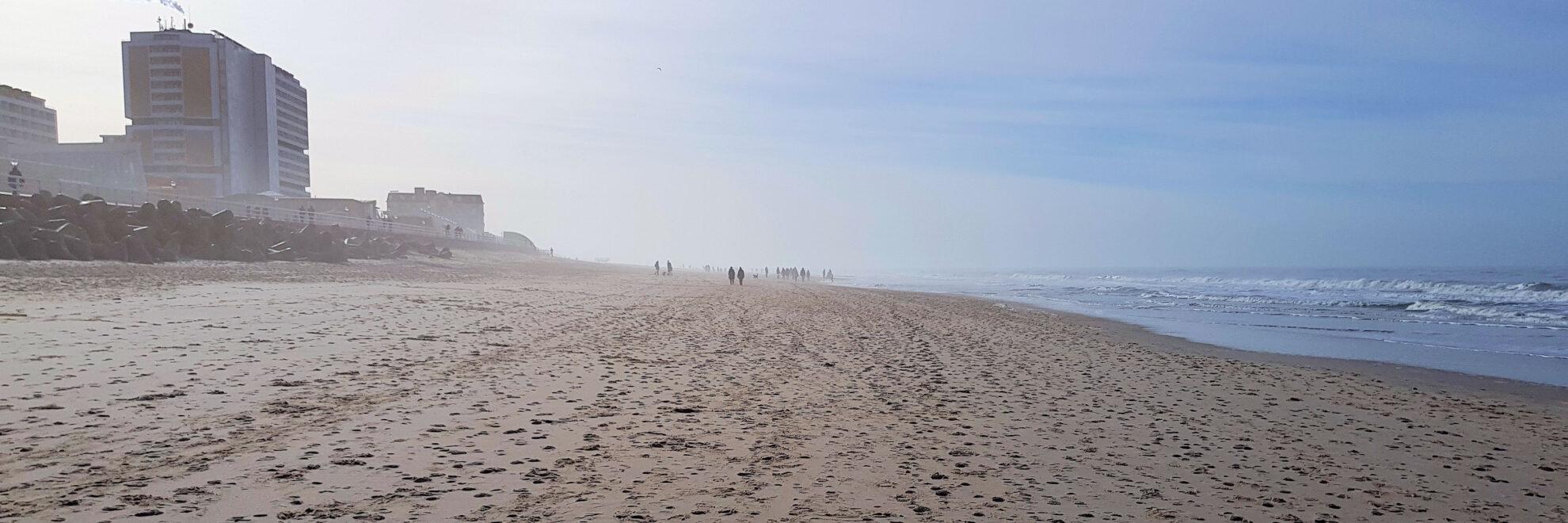 Sylt: Am Strand von Westerland