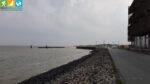 Zubetonierte Ostküste nördlich des Hörnumer Hafens (Sylt, Schleswig-Holstein)
