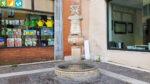 Fontana dei tre visi in Treviso (Venetien, Italien)