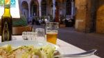 Abendessen an der Piazza San Vito in Treviso (Venetien, Italien)