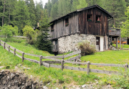 Reinswald: Wanderweg 7a zu den Reinswalder Mühlen