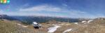 Panoramablick vom Sattele (Höhenrundweg 9B, Sarntal, Südtirol, Italien)